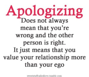 Relationship over ego