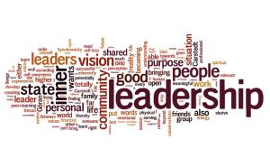 Leadership wordle