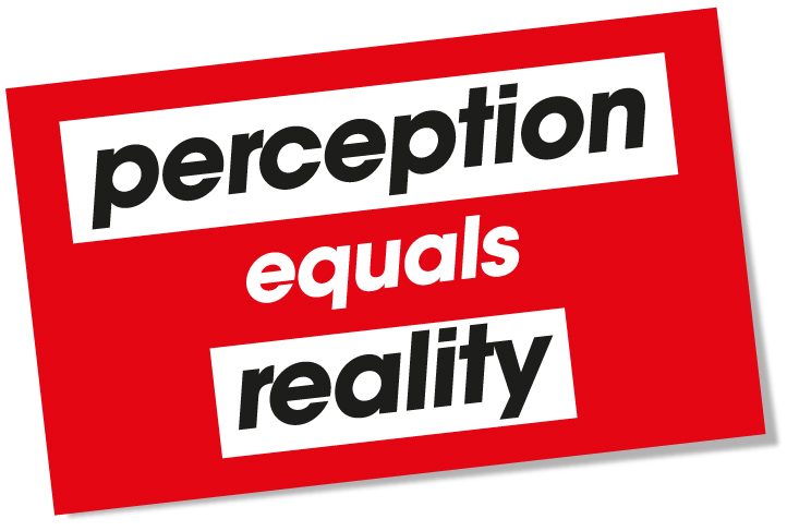reality is perception essay Perception of reality essays what is real our perception of reality is often in the hands of the community we live in we formulate ideas of reality using experience of our own as well as.