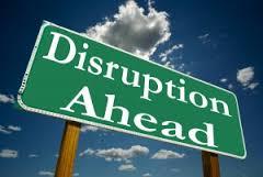 distruption-ahead