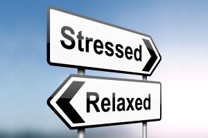 stressed-relaxed